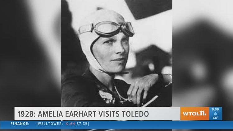 Amelia Earhart visits Toledo   Today in Toledo History July 23