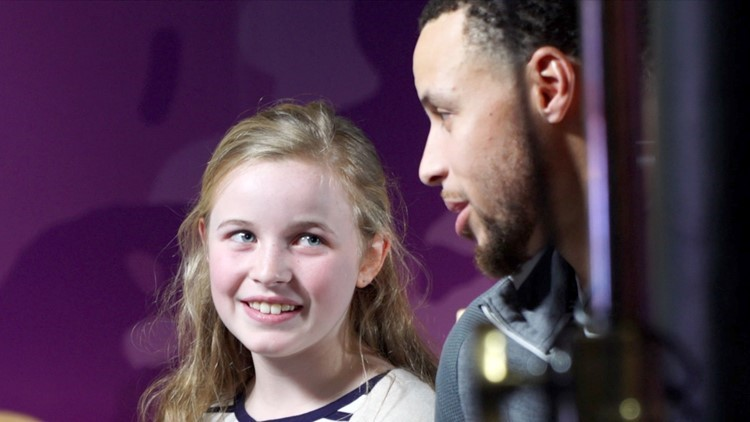 bd4ca9241bd1 Stephen Curry shoe inspired by 9-year-old girl debuts on Women s Day ...