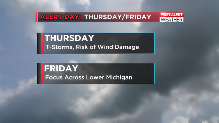 FIRST ALERT DAYS: Thursday and Friday | wtol com