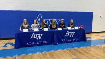 Signing day for local athletes advancing to the next level