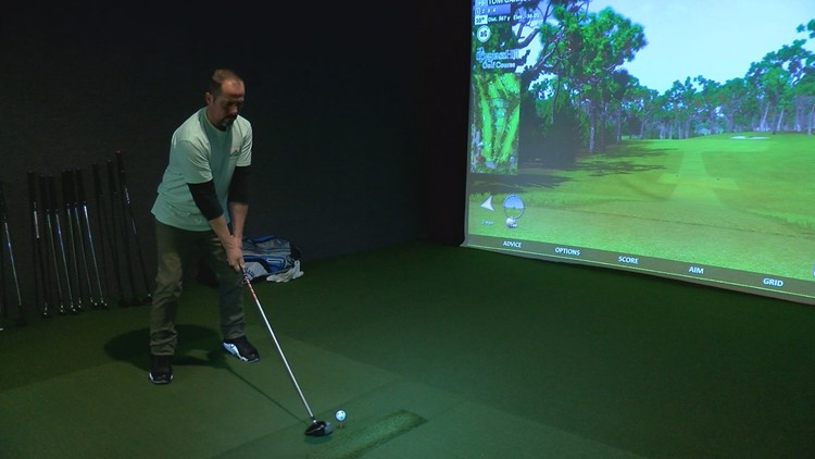 Blue Skies Fore Ever is a place for indoor golfers