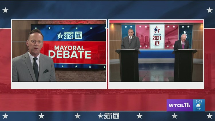 Fact checking, adding context to WTOL 11 mayoral candidate debate
