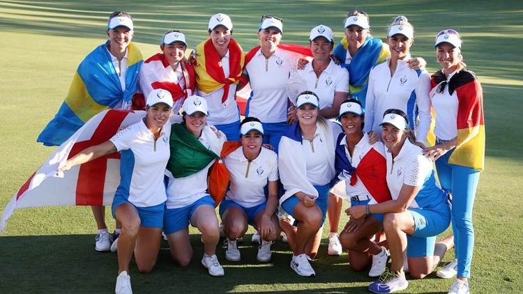 Europe retains the Solheim Cup, defeating US at Inverness