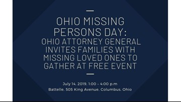 Ohio AG hosting event to bring awareness to missing persons cases