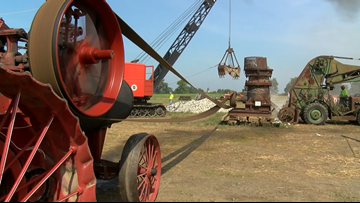Old Iron comes to life in Wood County