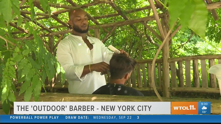 Reason to Smile: Central Park Barber