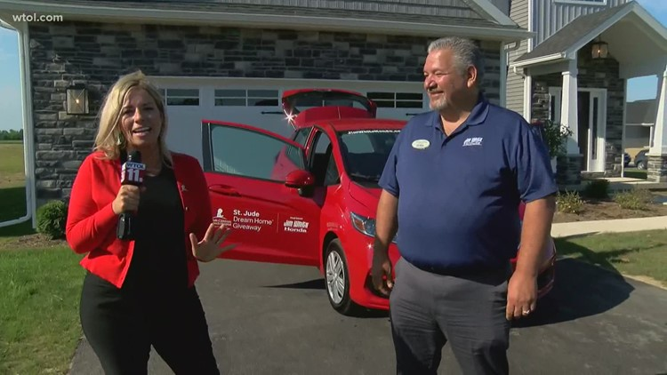 Jim White Honda's Chris Gomez is ready for the big day of St. Jude Dream Home giveaways!