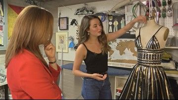 Duct-tape diva: Local fashion designer in contest to win scholarship