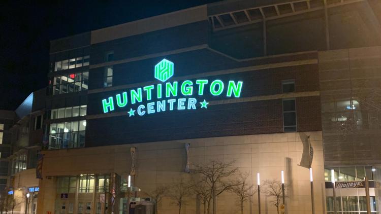 Huntington Center Trump visit