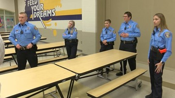 Sylvania police explorers have hands-on training for future law enforcement careers