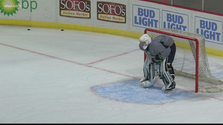 Toledo native Roudebush making strong impression in Walleye training camp