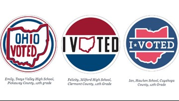 Vote for your favorite new Ohio Election Day sticker