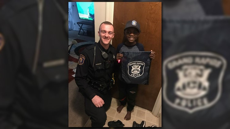 Michigan officers celebrate 9-year-old's birthday after no one showed up to his party