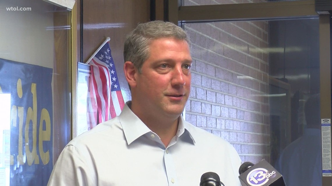 Democratic Rep. Tim Ryan focuses on the challenges of Ohio workers during visit to Toledo