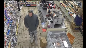 Caught on camera: TPD looking for 7-Eleven robbery suspect