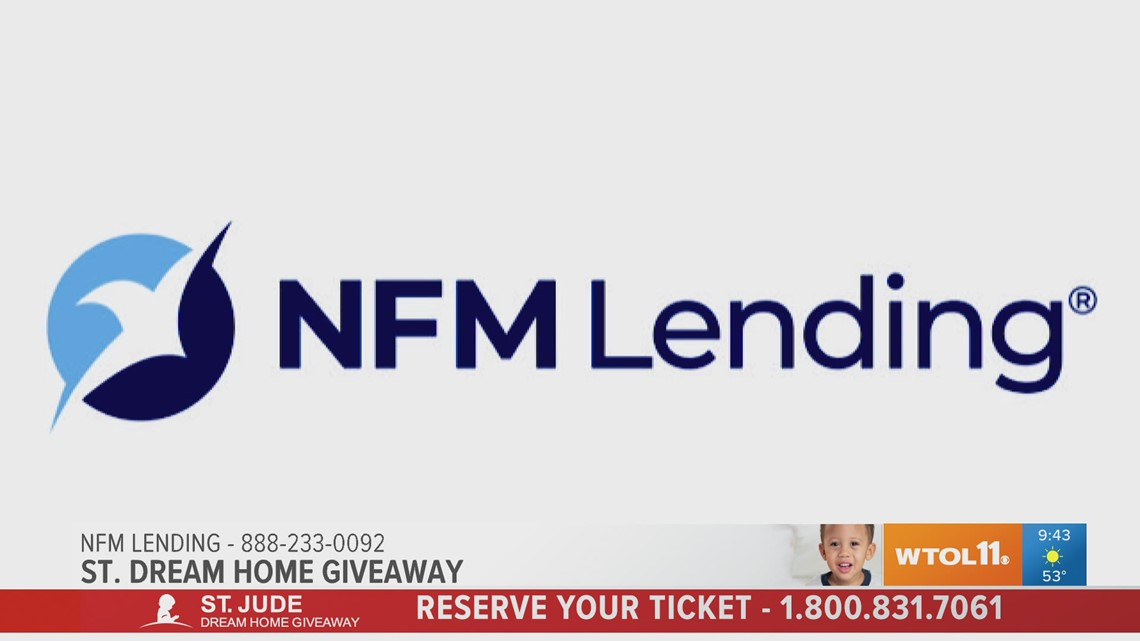 Buy your St. Jude Dream home ticket today for a chance to win a $5,000 Visa gift card from NFM Lending