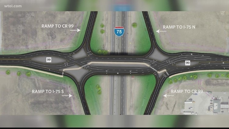 Initial funding approved for diverging diamond interchange in Findlay