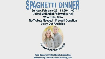 Spaghetti fundraiser benefits Cystic Fibrosis Foundation