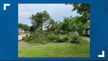 BG hit hard by power outages, downed trees, as strong storms strike parts of northwest Ohio
