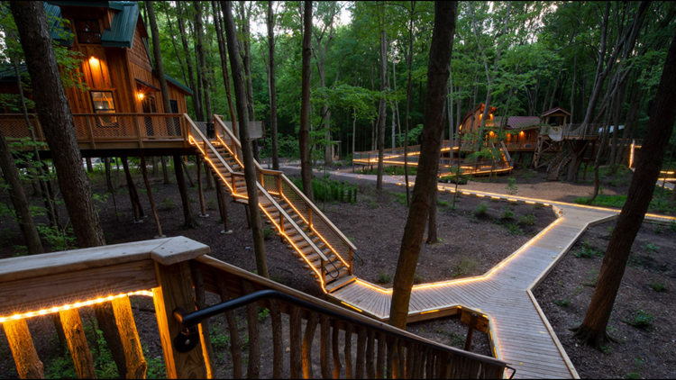 Win a weekend stay at the Hub Treehouse in Oak Openings