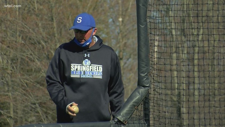 Springfield's Whitmire returns to the diamond after battle with cancer