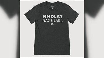 'Findlay Has Heart' shirt sales raising money for local businesses