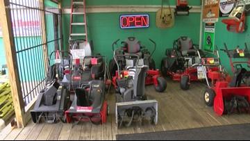 Snow equipment businesses looking forward to weekend snowfall