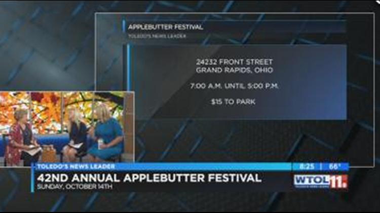 Applebutter Festival back for its 42nd year | wtol com