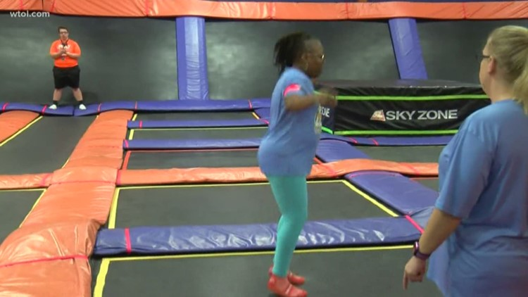 Sky Zone Super Fitness Weight Loss Challenge