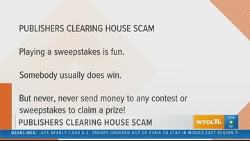 BBB: Publisher's Clearing House scam continues to pester people