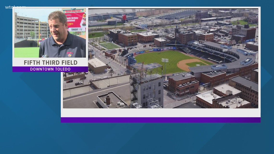 Mud Hens looking forward to busy weekend as Fifth Third Field opens to full capacity
