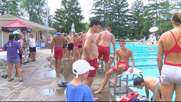 YMCA staff compete in annual Lifeguard Olympics