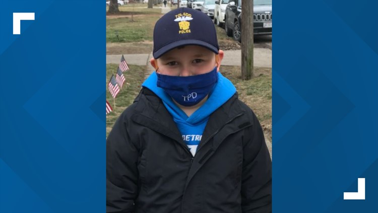 PHOTOS: 8-year-old sells hot cocoa to raise money for family of fallen TPD officer Brandon Stalker