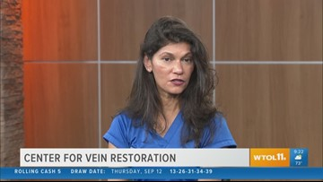 Local doctor explains procedures for vein disease