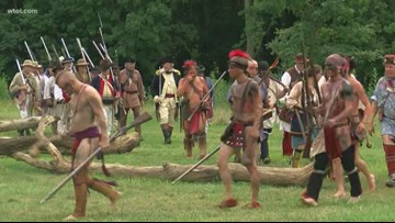 225th anniversary of the Battle of the Fallen Timbers remembered in Maumee