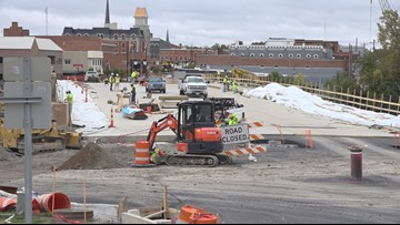 Clinton Street Bridge in Defiance reaching final stages