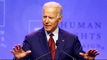 Biden: Trump 'using the language' of 'white nationalists'