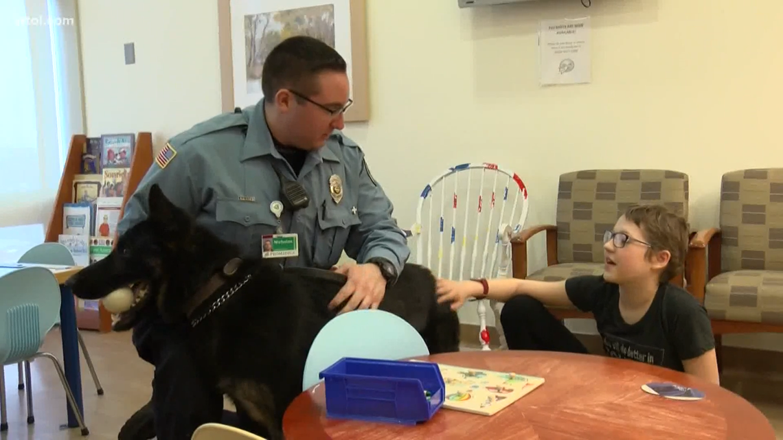 New K-9 officer provides safety and support for patients at ProMedica Toledo Hospital