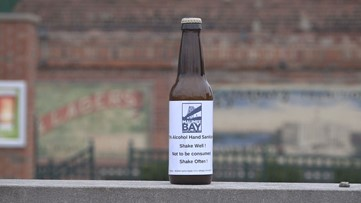 Maumee Bay Brewing Co. stirring up free hand sanitizer