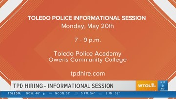 TPD informational hiring session