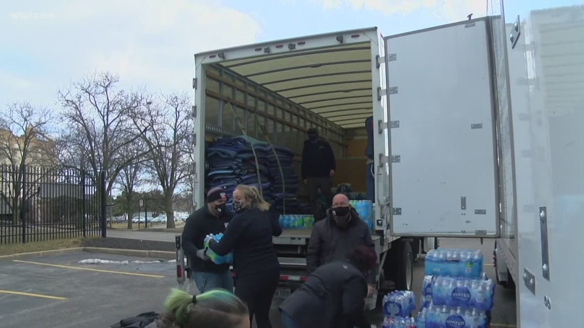 Hope for Texas and Toledo | Outpouring of donations for the Lone Star State helping Glass City, too