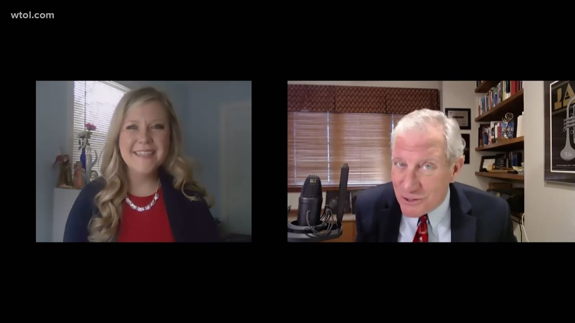 Feb. 7, 2021: Leading Edge with Jerry Anderson —  Toledo City Council Member Kate Moline