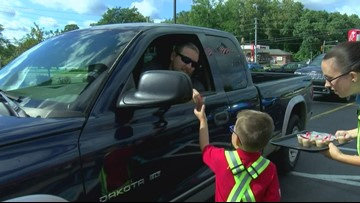 5-year-old gets dream job, works at Toledo Chick-fil-A for the day