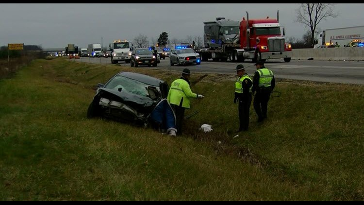 State trooper and K-9 involved in crash on Ohio Turnpike