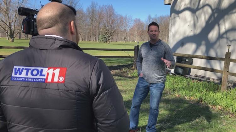 Call 11 for Action: Toledo residents worried errant golf balls will strike children