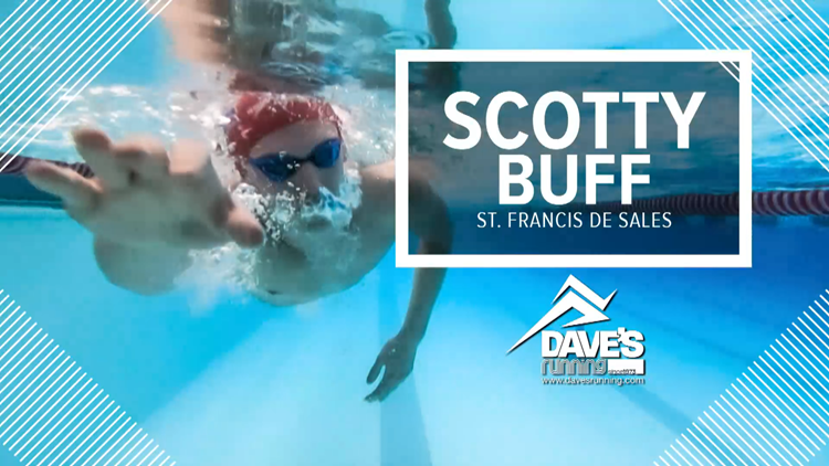 Athlete of the Week: St. Francis swimmer Scotty Buff