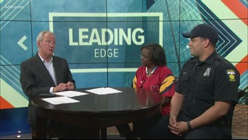 June 2: Leading Edge with Jerry Anderson - Guests Flo Wormely and Prince Flores