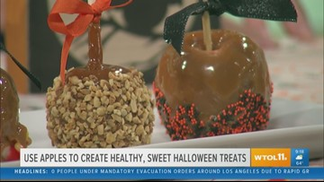 Michigan apples add a healthy touch to Halloween treats