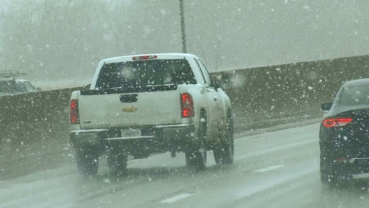 Blowing and drifting snow creating hazardous conditions