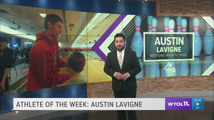 Bedford's Austin LaVigne: Athlete of the Week